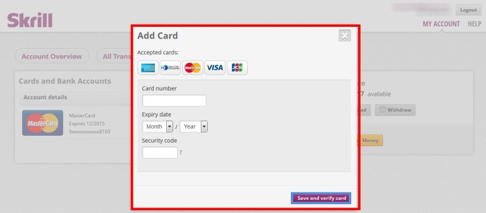 How to Link your Payoneer Account to to Skrill