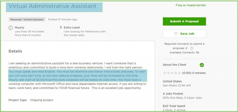 Job types that lead to long-term contracts on Upwork