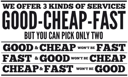 cheap and fast seo is not good