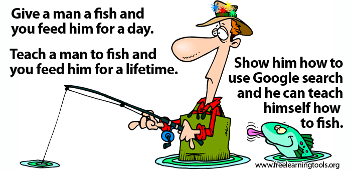 an experience of teaching man how to fish Barbarian training is a  will offer to teach eligible  use the fishing spots around the lake and hook a leaping fish the cooking experience refers to the.