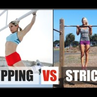 Pullup Strict Vs Pullup Kipping