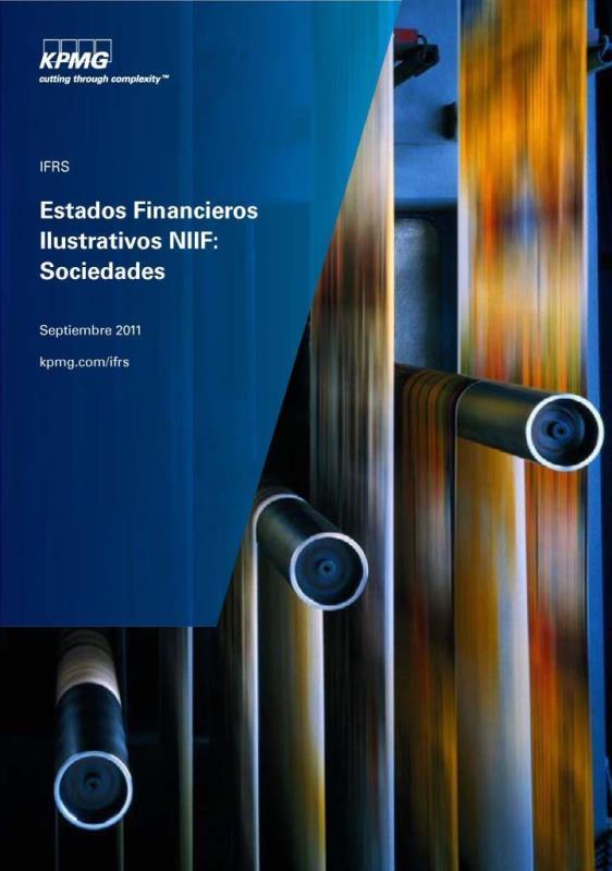 Estados Financieros Ilustrativos NIIF: Sociedades