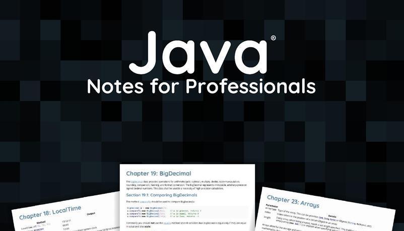 Notes pdf java