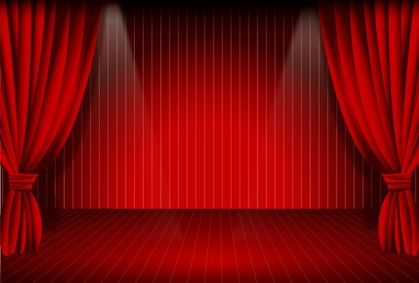 Stage Curtain Free Vector Download FreeLogoVectors