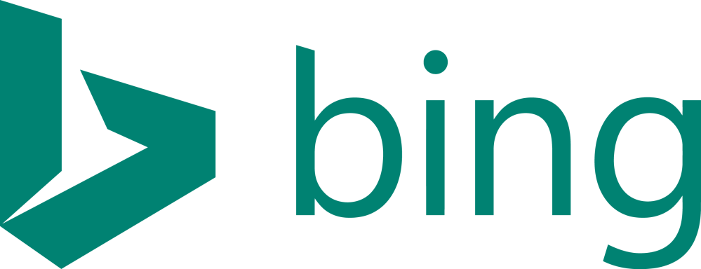 medium resolution of bing logo png