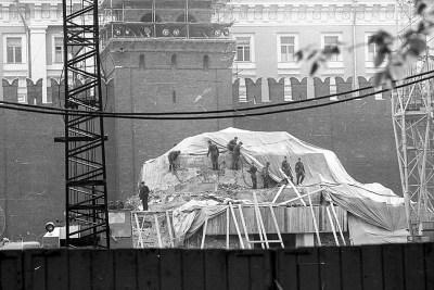 V roce 1974 bylo mauzoleum uzavřeno kvůli rekonstrukci Foto: pastvu.com/p/389136