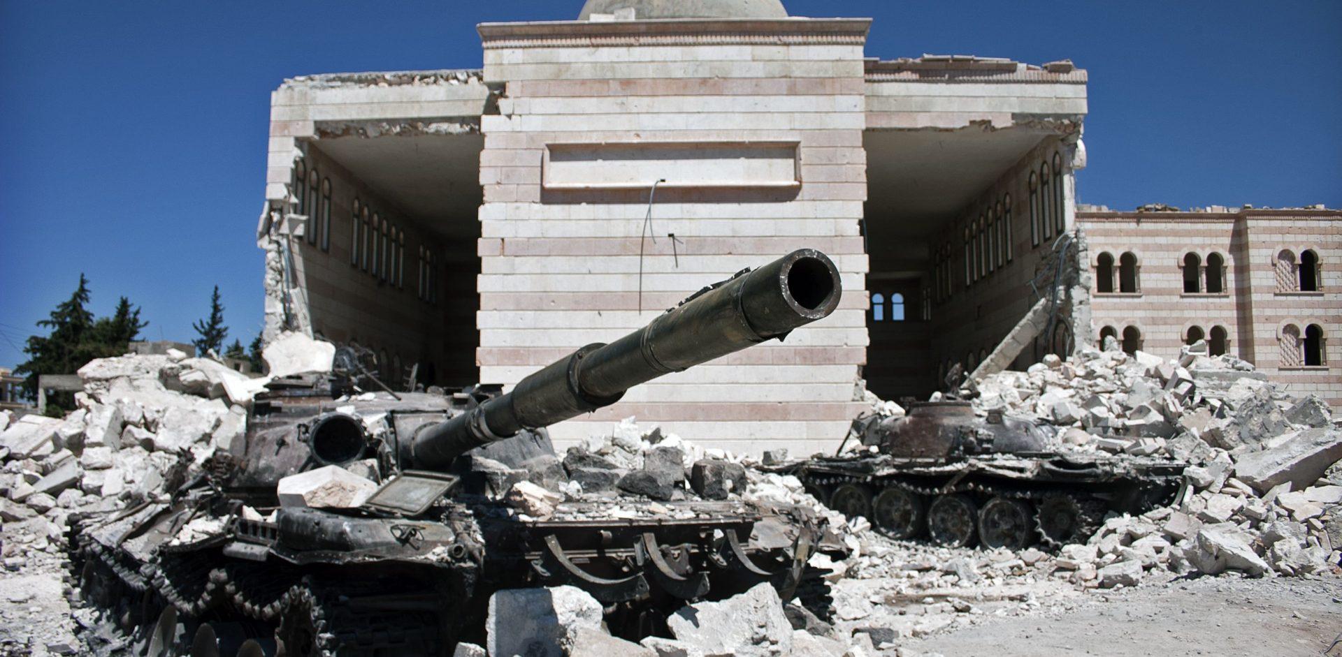 Azaz, Sýrie/By Christiaan Triebert CC 2.0