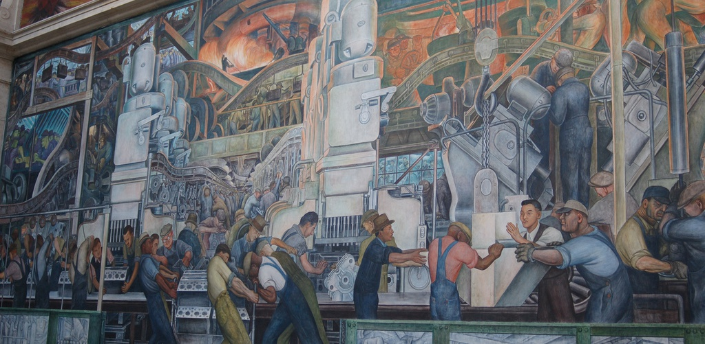 Ashley Street, Diego Rivera
