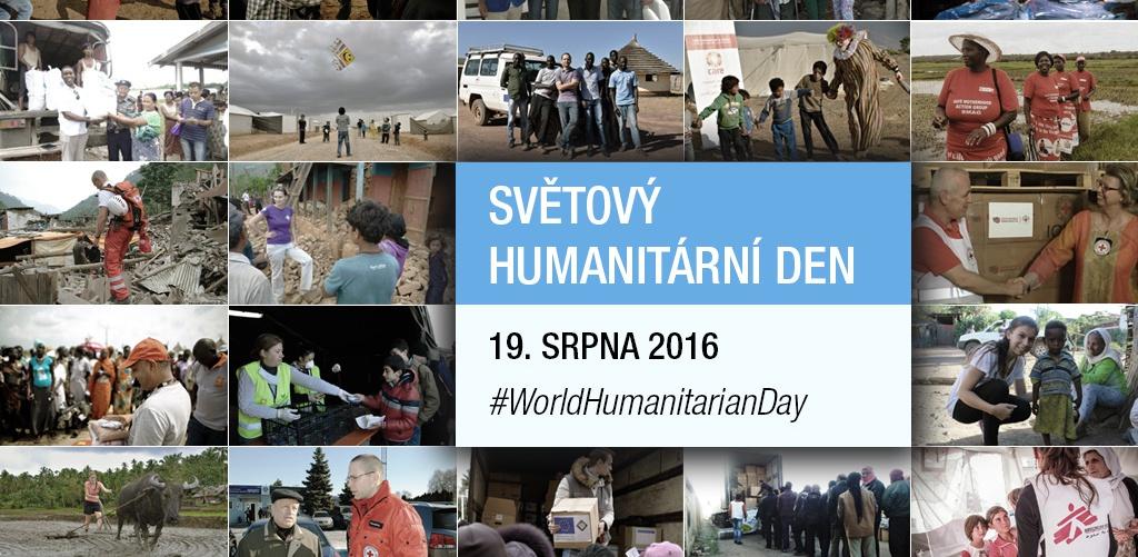 Světový humanitární den - připojte se k pomoci i Vy