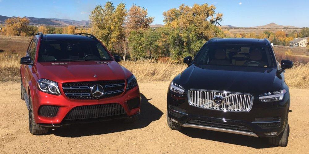 Velká videorecenze: Mercedes-Benz GLS a Volvo XC90