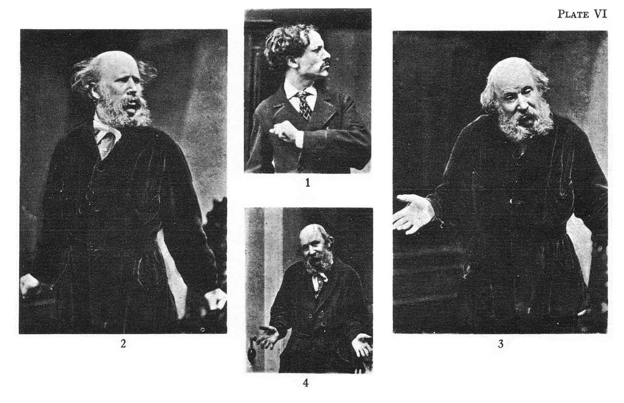 Expression of the Emotions, PlateVI, 1872