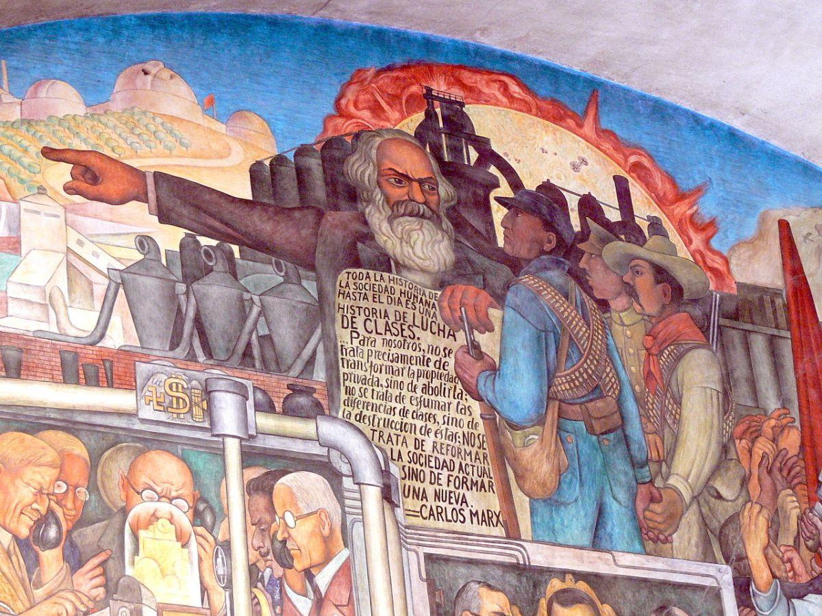 Marxova ideologie je stále živá