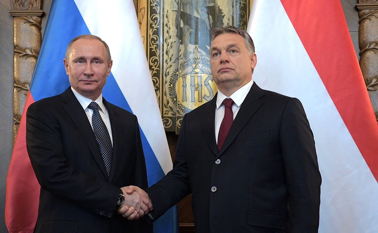 Vladimir Putin and Viktor Orbán, The Russian Presidential Press and Information Office