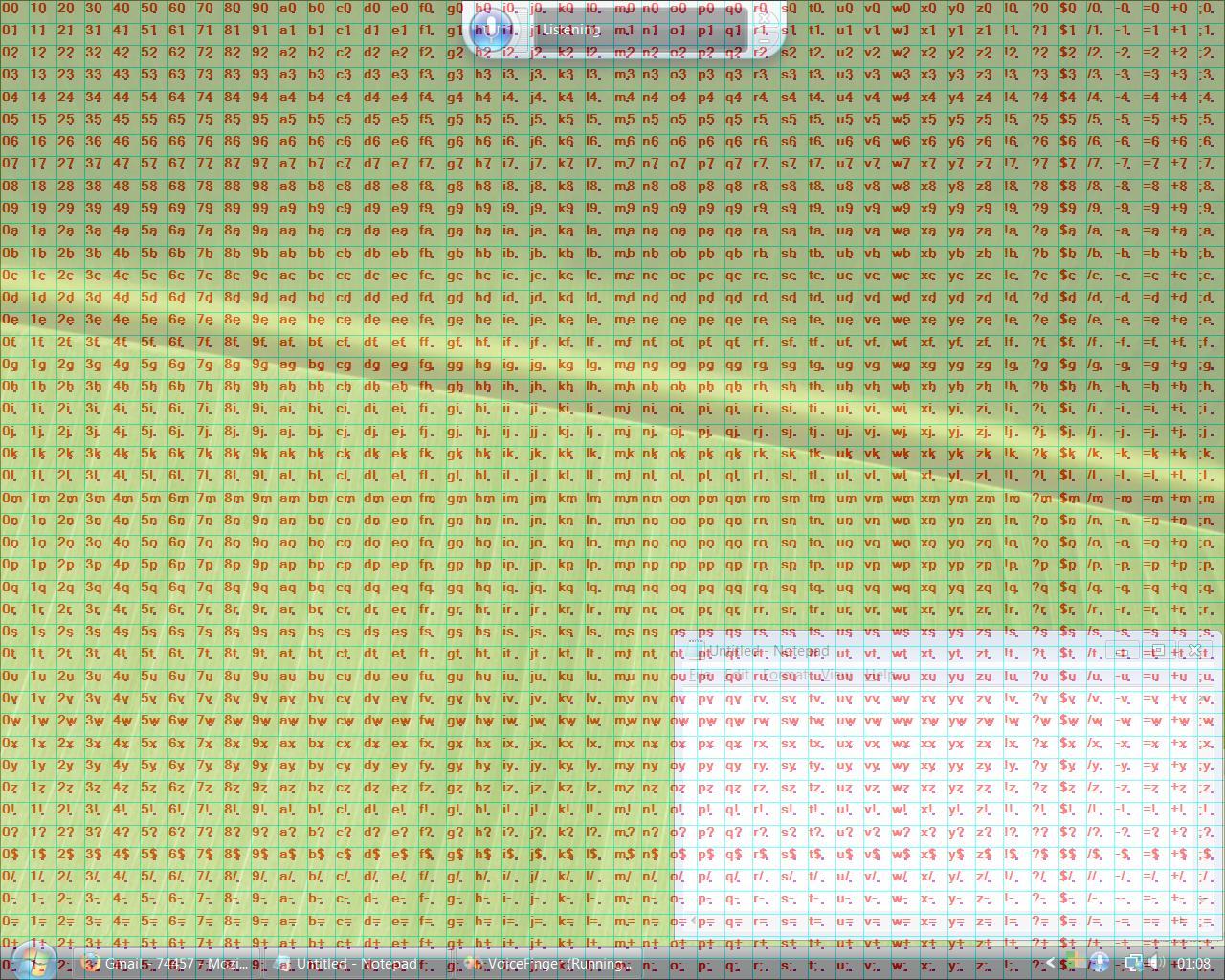 Voice Finger Screenshot, photo Hexacorde