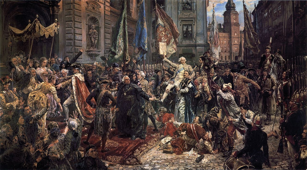 Adoption of the Polish Constitution of May 3, 1791, National Museum of Poland Catalogue