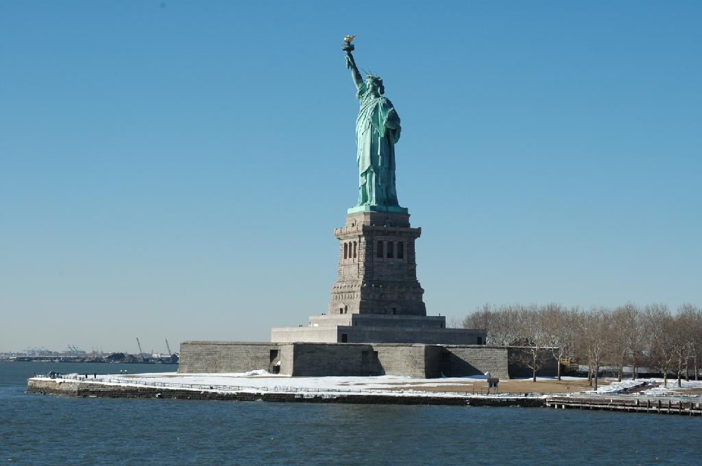 Statue of Liberty, photo Iolaire~commonswiki