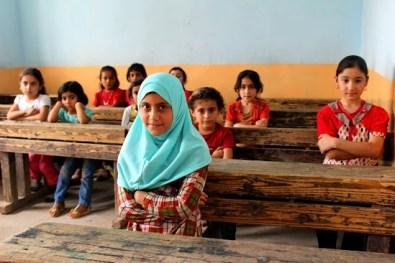 Sahela at school