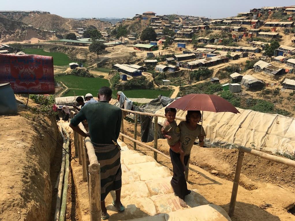 Uprchlický tábor v Bangladéši, foto Marek Štys