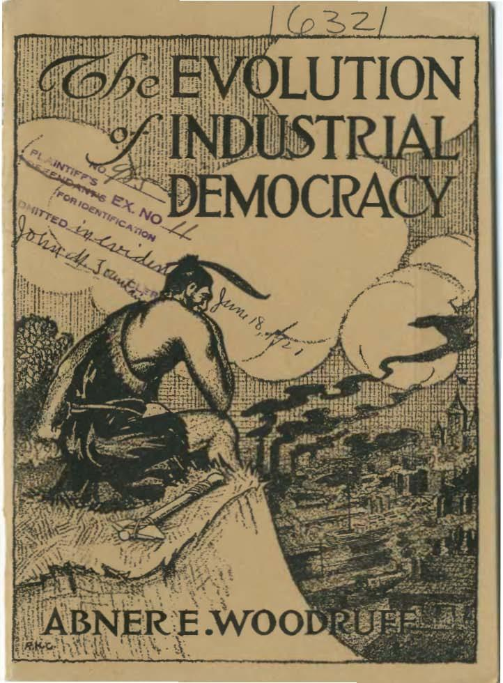The Evolution of Industrial Democracy, (c) Abner E. Woodruff, Wikimedia Commons