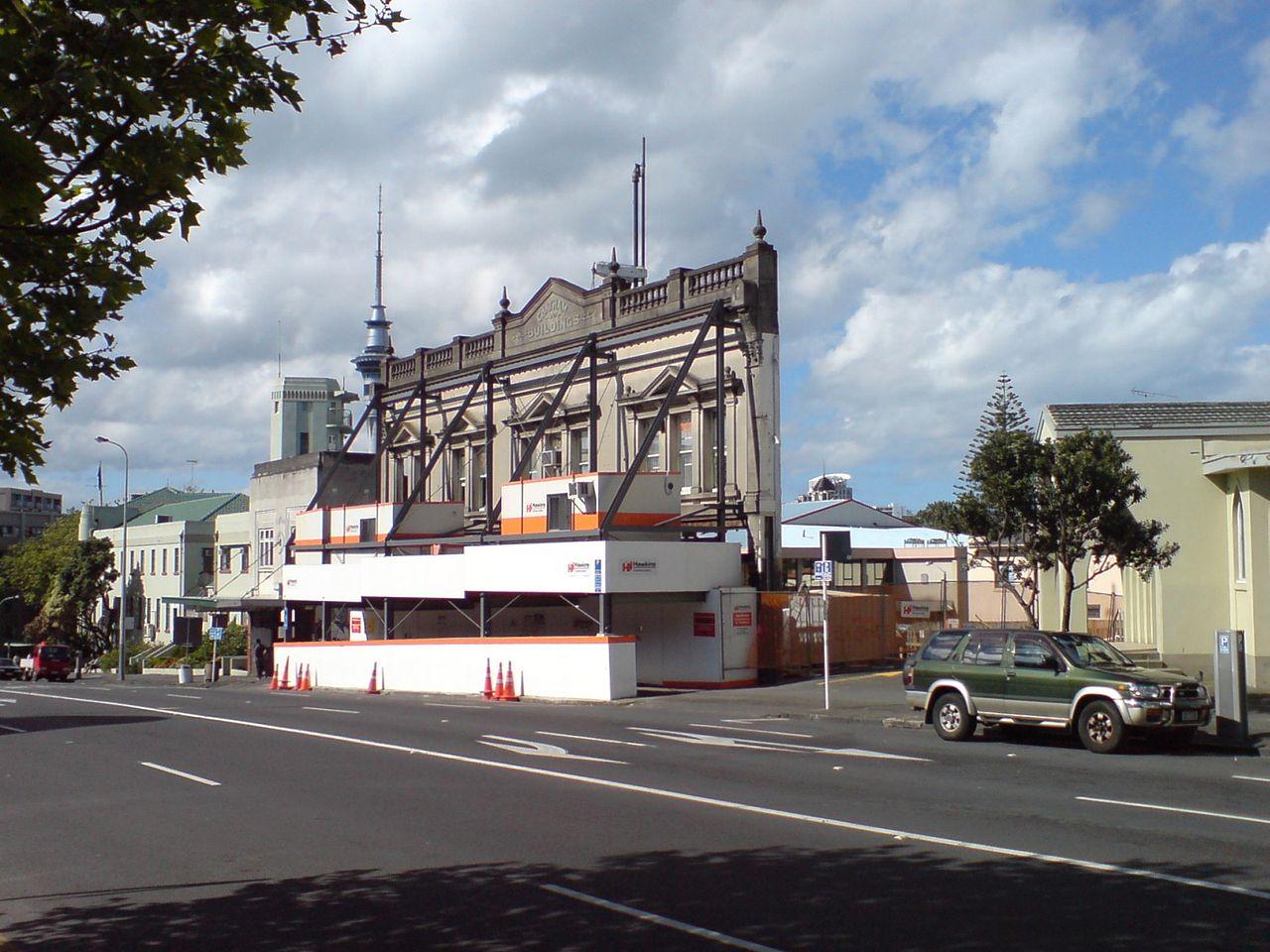 Potemkin Village Facade, Auckland, Ingolfson