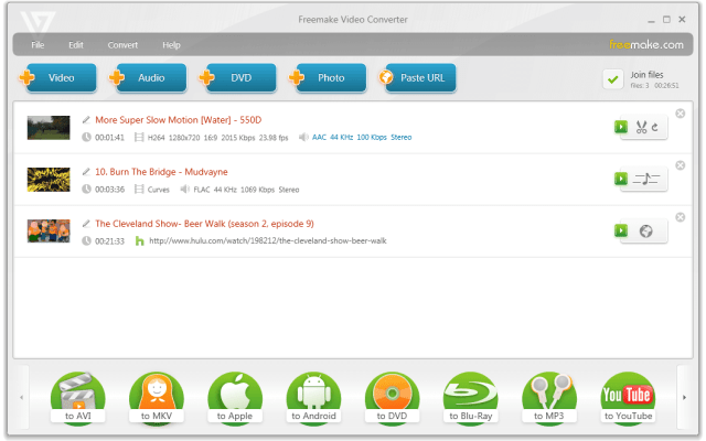 """Freemake Video Converter 3.2 comes with iPad Mini & Android Presets"""