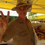 david freeman giving peace sign