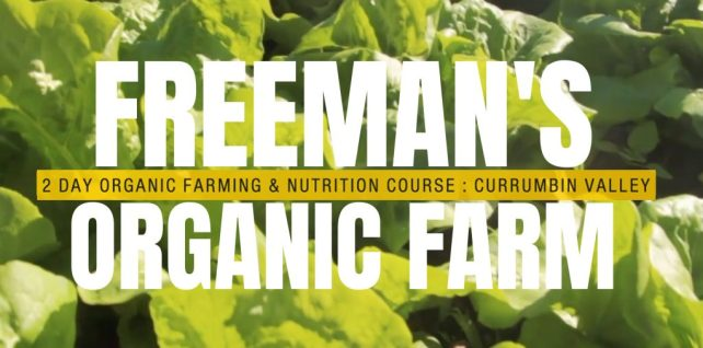 Freemans organic farm courses