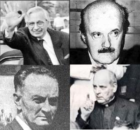Gelli, Calvi, Sindona, Marcinkus