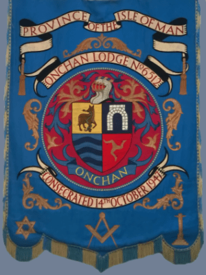 Banner - Onchan Lodge No. 6512