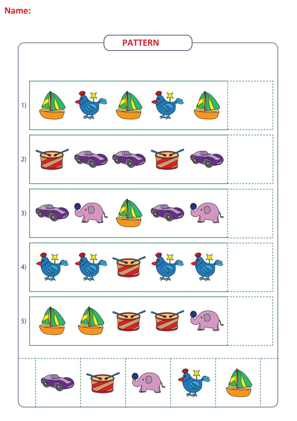 medium resolution of Non Linear Pattern Worksheet   Printable Worksheets and Activities for  Teachers