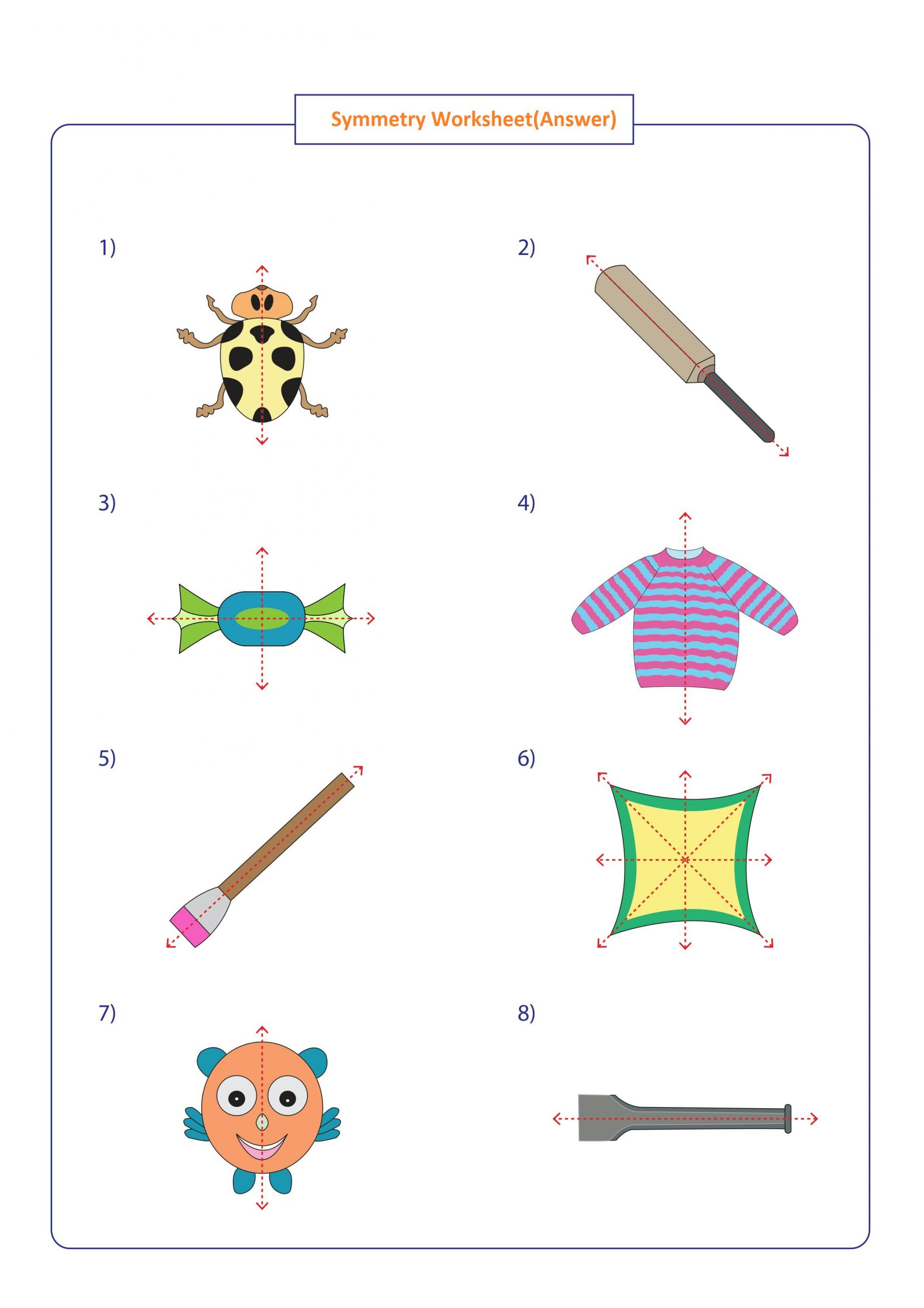hight resolution of Symmetry Worksheets Math   Printable Worksheets and Activities for  Teachers