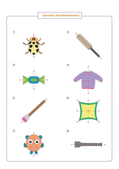 small resolution of Symmetry Worksheets Math   Printable Worksheets and Activities for  Teachers