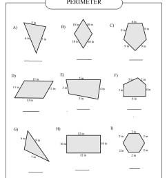 perimeter worksheet Archives - Free Math Worksheets [ 1200 x 927 Pixel ]