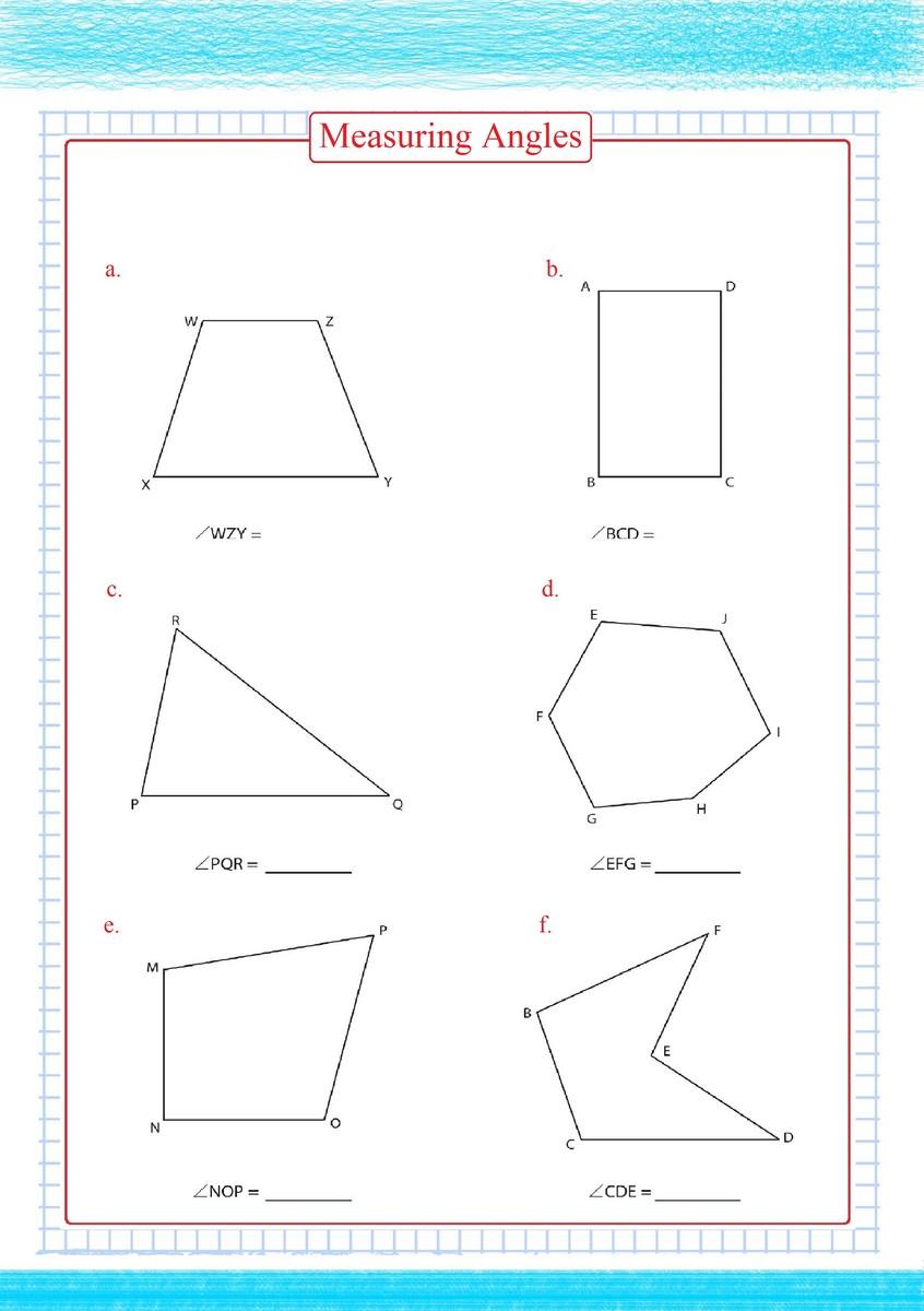 medium resolution of Measuring Angles Worksheets pdf - Free Math Worksheets