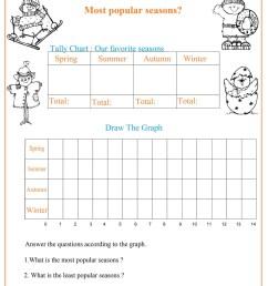 Seasons Chart Worksheet - Free Math Worksheets [ 1200 x 927 Pixel ]