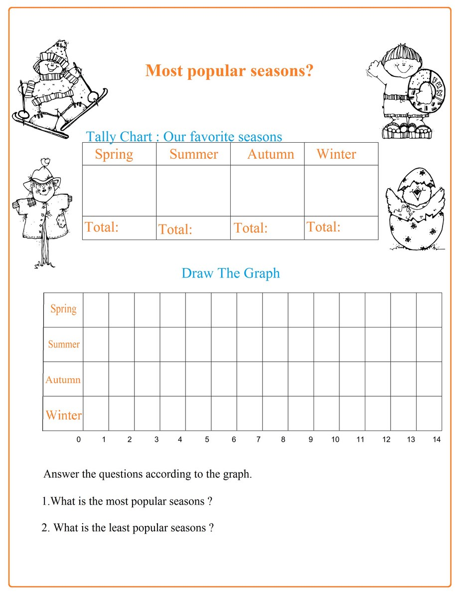 hight resolution of Seasons Chart Worksheet - Free Math Worksheets