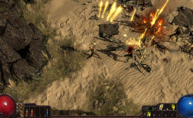 Path Of Exile Free Action Mmo Game Review