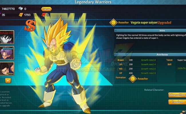 Dragon Ball Z Online Free Anime Mmorpg Review Download