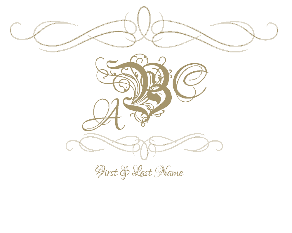 wedding monogram design deweddingjpgcom