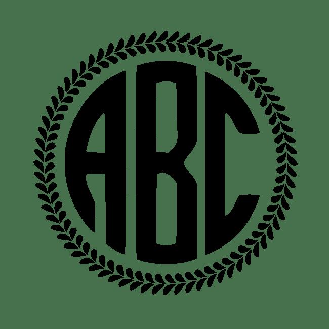 create initial monogram free