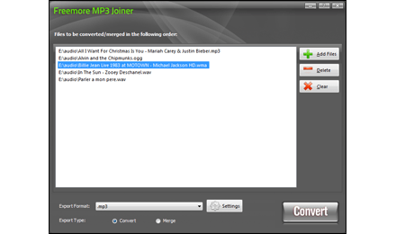 mp3 merge files into one