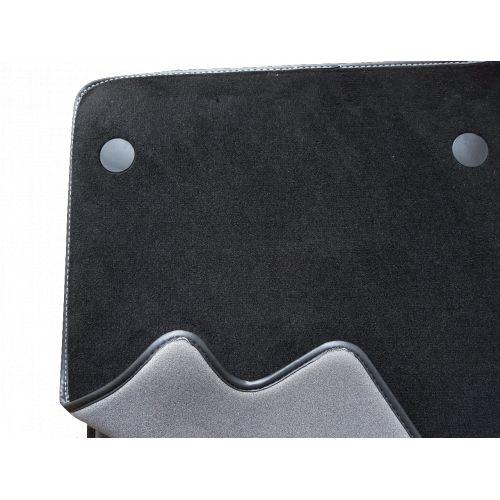tapis auto peugeot 207 207 sw sur mesure noir