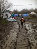 Conditions at the Dunkirk camp