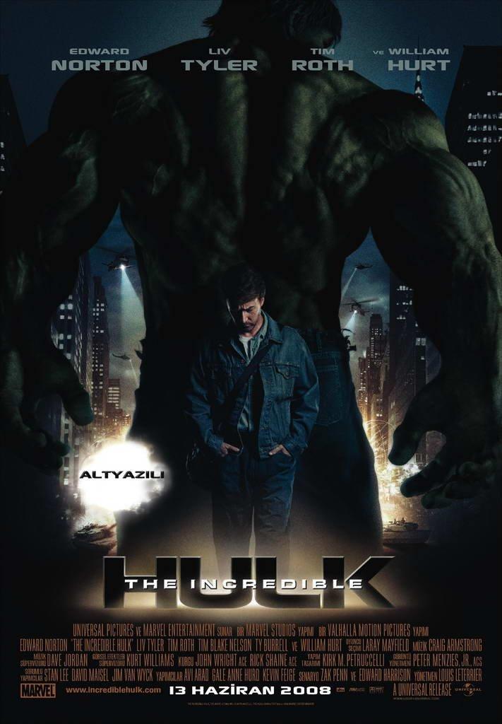 the incredible hulk 2008 � joel watches movies