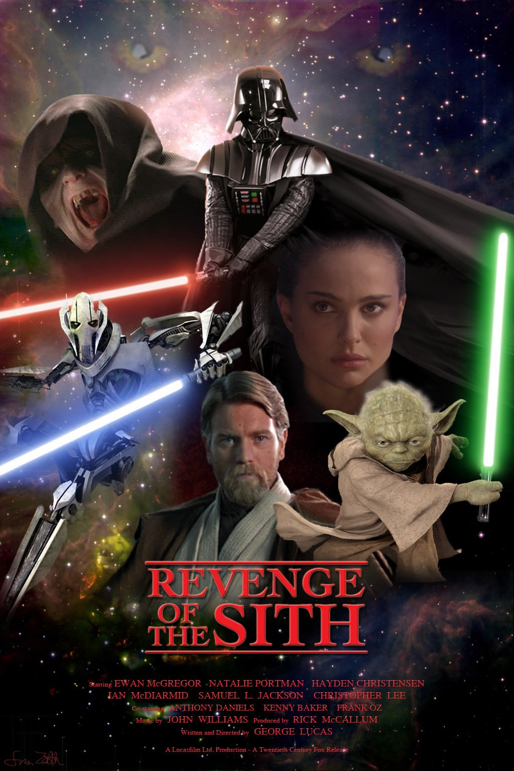The Other Boleyn Girl Hd Wallpaper Star Wars Episode Iii Revenge Of The Sith 2005 Poster