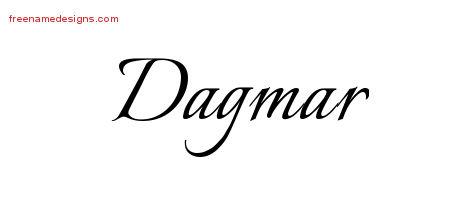 Calligraphic Name Tattoo Designs Dagmar Download Free ...