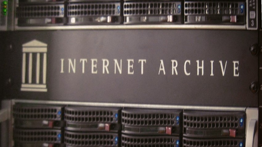 Internet Archive Servers