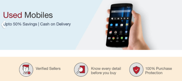 Amazon Launches Used & Refurbished Mobile Store