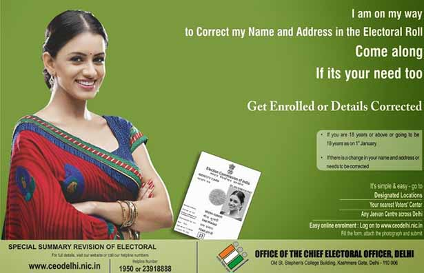 Apply Voter Card Online