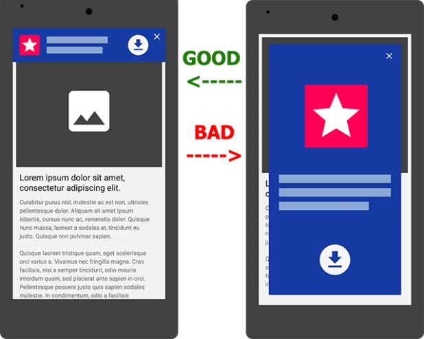 Google Is Penalizing Mobile Interstitials Ads